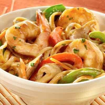 Teriyaki Shrimp Lo Mein Image