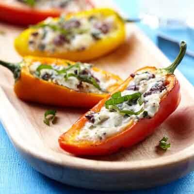 Mediterranean Stuffed Sweet Peppers Image