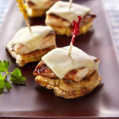 Cinnamon Chicken Waffle Bites Image