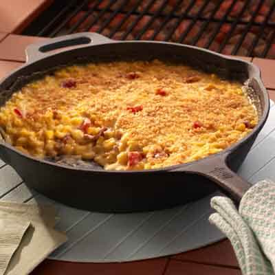 Cheesy Grilled Scalloped Corn Image