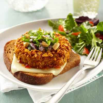 Sweet Potato Quinoa Burgers Image
