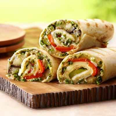 Grilled Middle Eastern Wraps Image