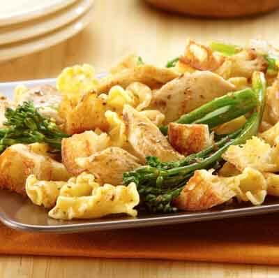 chicken pasta image