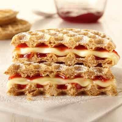 Strawberry Cheese Wafflewich Image
