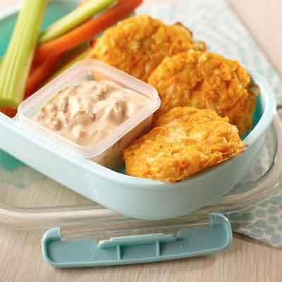 Sweet Potato Cakes with Chipotle Ranch Dip Image