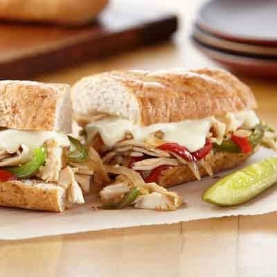 Chicken Philly Sandwiches Image
