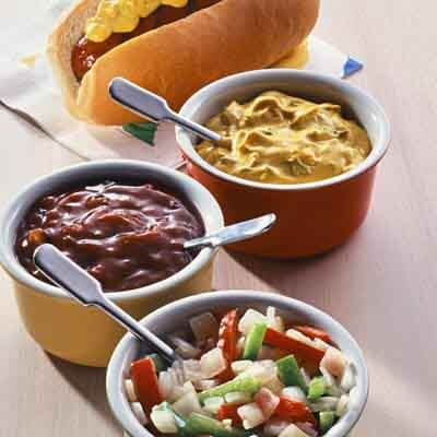 Top-Your-Own Hot Dogs Image