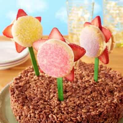 Ice Cream Flower Sandwiches Image