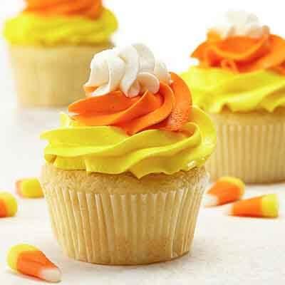 Candy Corn Cupcakes Image