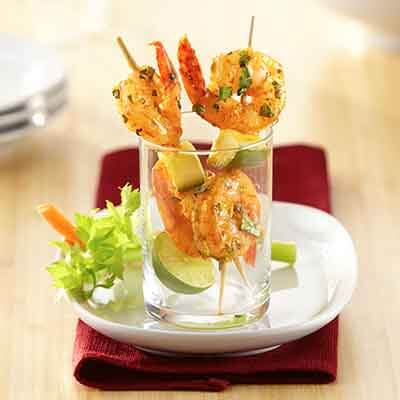 Chili-Lime Shrimp Skewers Image