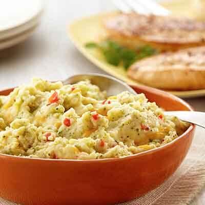 Broccoli Cheddar Mashed Potatoes Image
