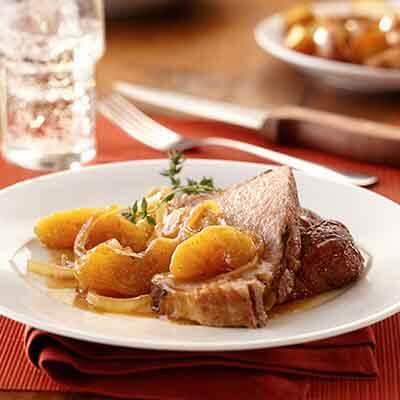 Apple Pork Roast Recipe
