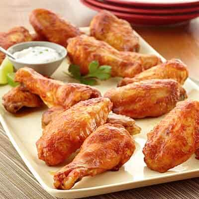 Chipotle Lime Wings Image