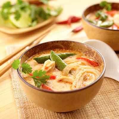 Thai Chicken Noodle Soup Image