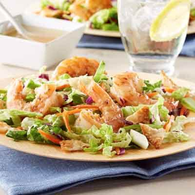 Miso Shrimp Salad Image