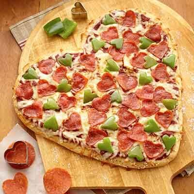 Sweetheart Pizza Image