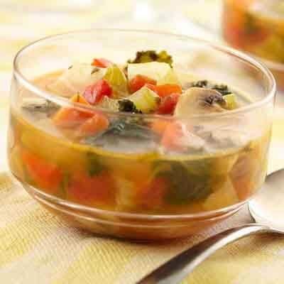 Summer Vegetable Soup Image