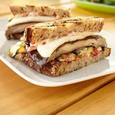 Grilled Portabella Sandwich Image