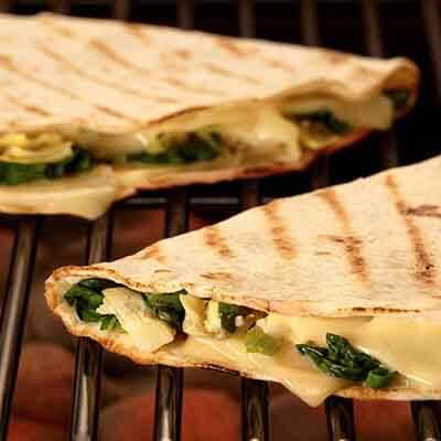 Artichoke Spinach Quesadillas Image