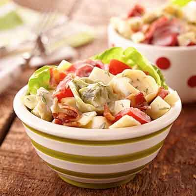 Cheese Dill Tortellini Salad Image