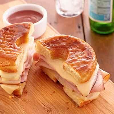Monte Cristo Donut Sandwich Image