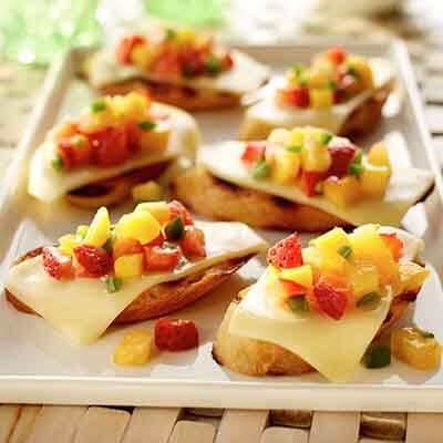 Fruit Salsa Bruschetta Image