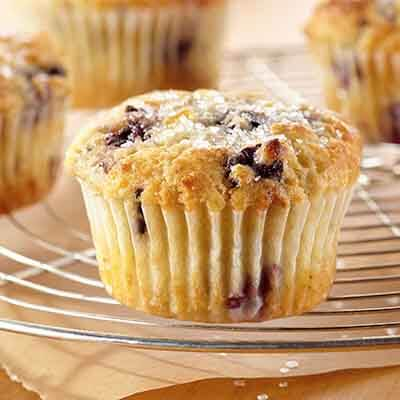 Blackberry Orange Ricotta Muffins Image