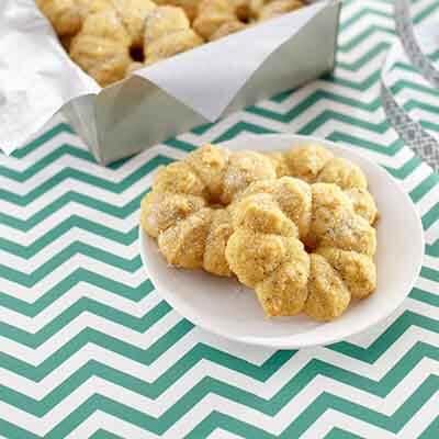 Salted Pistachio Spritz Cookies Image