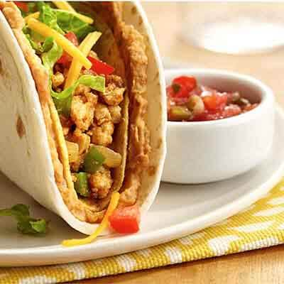 Double Decker Turkey Tacos Image