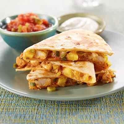 Pineapple Chicken Quesadillas Image
