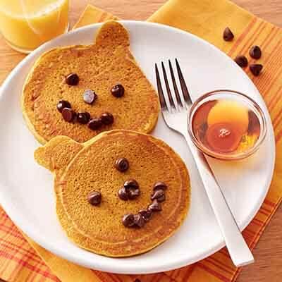 Jack O'Lantern Pancake Recipes