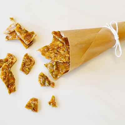Pumpkin Seed Brittle With Sea Salt Image