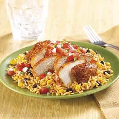 Southwest Confetti Chicken & Rice Image