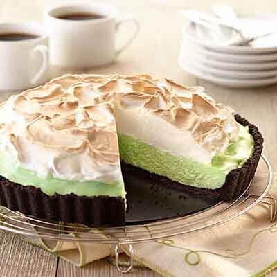 Mint White Chocolate Tart Image