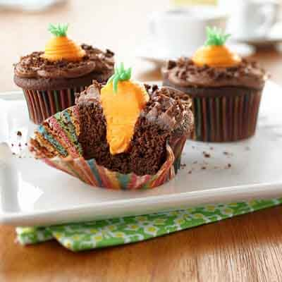 Carrot Patch Cupcakes Image