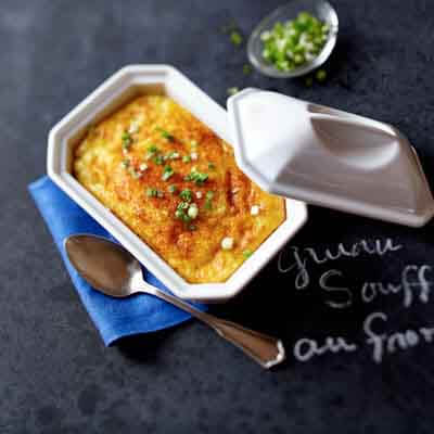Cheese Grits Soufflé Image