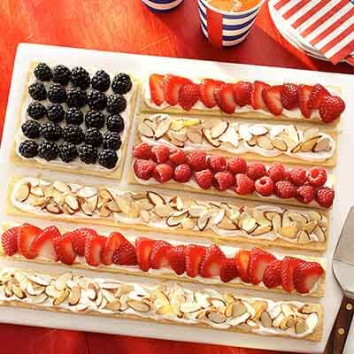 Flag Fruit Cookie