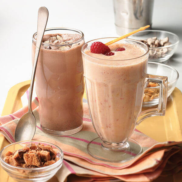 Double Chocolate Hazelnut Shake