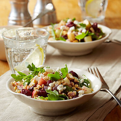 Ancient Grains & Roasted Vegetable Salad