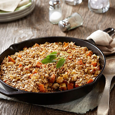 Root Vegetable Crumble