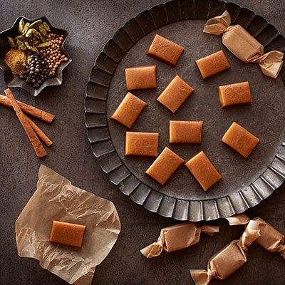 Garam Masala Spiced Soft Caramels