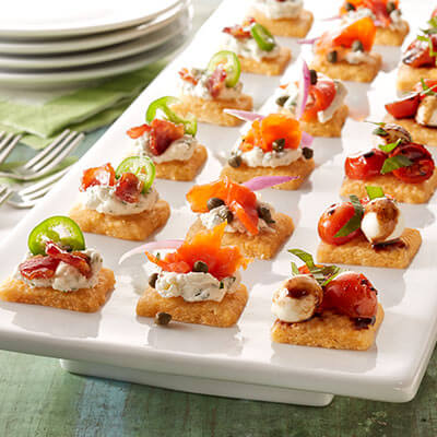 Cheddar Cheese Appetizer Bites