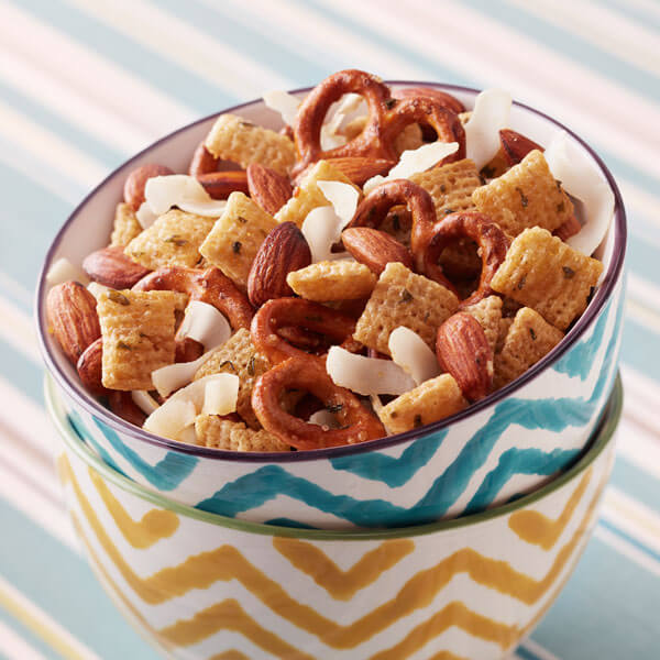 Snack Mix with Roasted Almonds & Coconut recipe