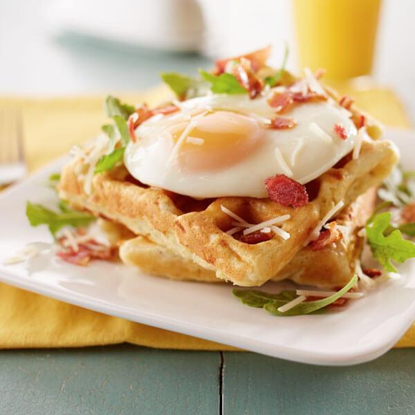 Parmesan Potato Waffle