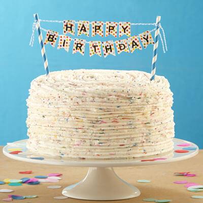 Outstanding Confetti Cake Recipe Land Olakes Funny Birthday Cards Online Elaedamsfinfo