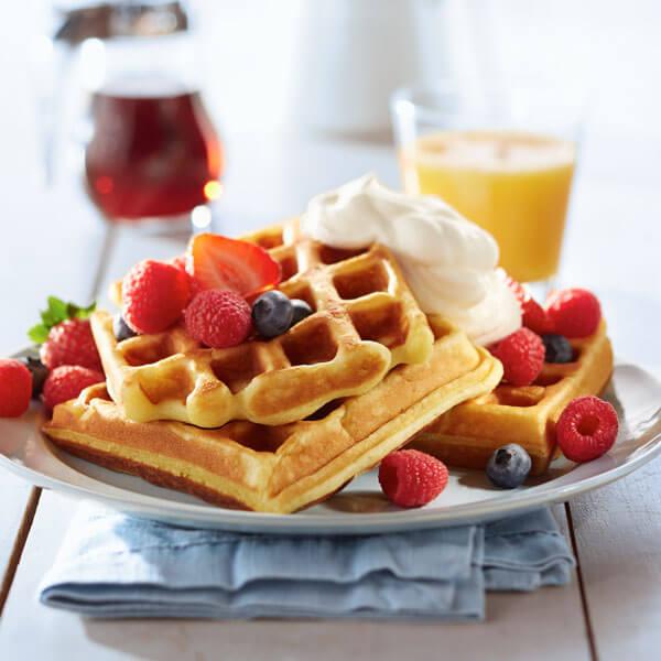 Sun Honey Waffles