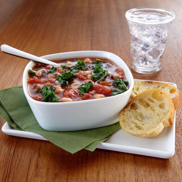 Tomato, Bean & Kale Soup Image