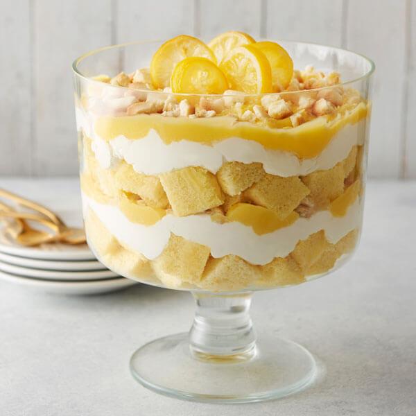 Candied Lemon Trifle