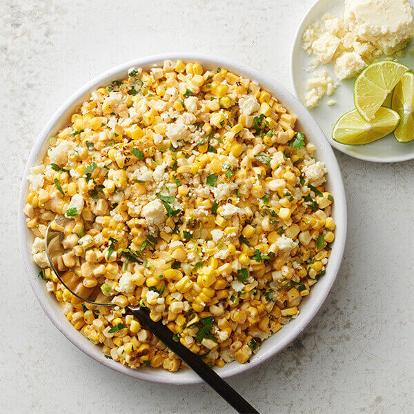 Grilled Mexican Street Corn image