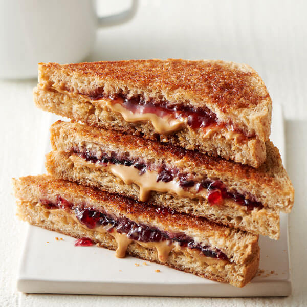 Grilled Peanut Butter & Jelly